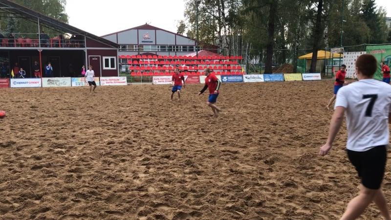 Чемпионат области по пляжному футболу
