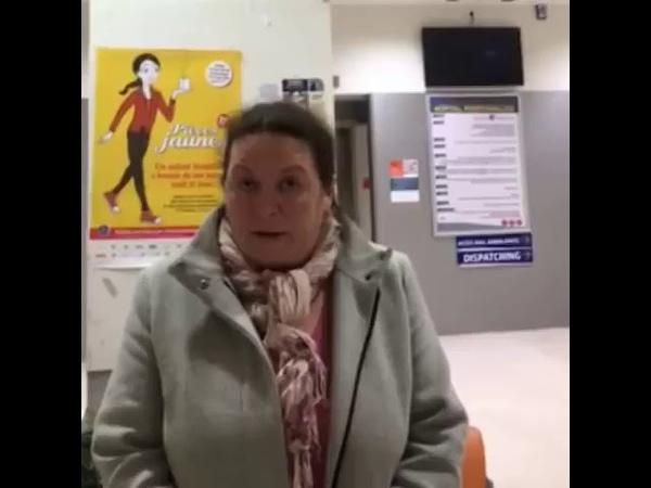 Marie Laure, Enseignante, Dont Le Fils vient de Perdre Un Œil, S'adresse Au Président