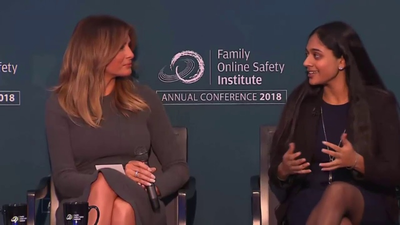 Melania Trump Speech At Online Safety Conference 11/15/18