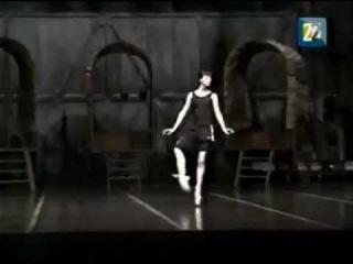 Sylvie Guillem rehearses Dulcinea variation