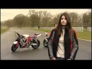 Hot Female Stunt Bike Rider Chesca Miles - Honda CBR600 - BBC - Carjam TV HD Car TV Show 2013