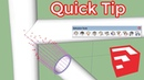SketchUp Plugin Quick Tip Extrude Tools