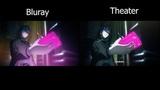 Fatestay night Heaven's Feel - Saber VS Rider BLURAY VS DVD Comparison 60FPS