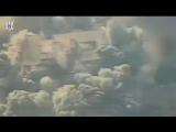 Watch IAF aircraft attack a multi-story building in Al-Shati Camp