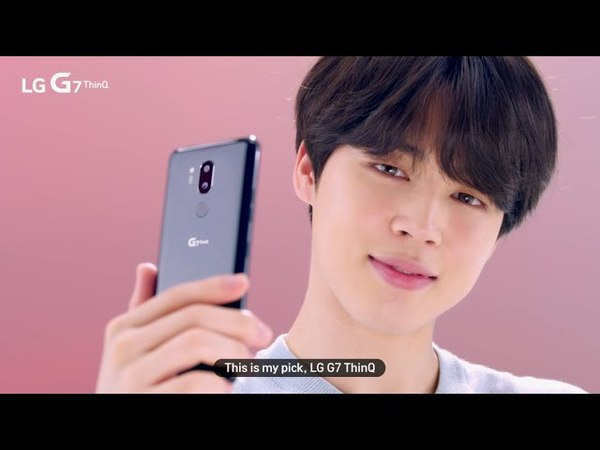 LG G7 ThinQ: USP Video with BTS (Jimin, Google Lens)