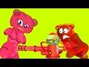 Желейный мишка 🔫 КОНФЕТНАЯ ПУШКА конфетянка стреляет ⚔️ ЩЕНЯЧИЙ ПАТРУЛЬ ПАРО