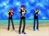 Братья Шион: Кайто, Акайто, Тайто Мечта Бойца [Shion Brothers Dream Fighter!]
