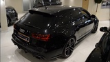Black beast - Audi RS6 Performance 605HP Metallic Black