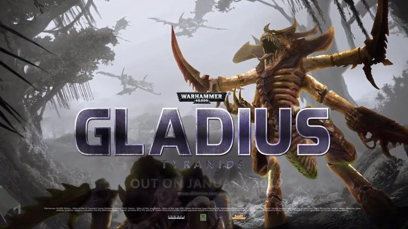 Warhammer 40.000 Gladius Relics of War - Tyranids Trailer