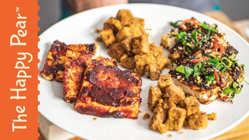 3 BEST WAYS TO COOK TOFU | THE HAPPY PEAR