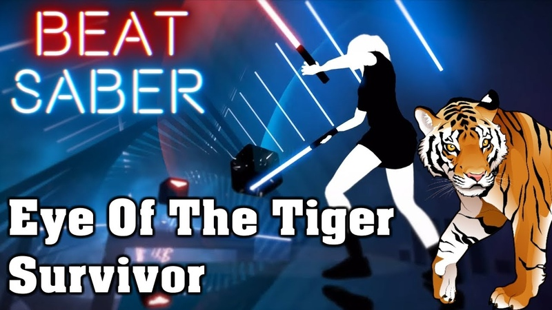 Beat Saber - Eye Of The Tiger - Survivor (custom song) | FC