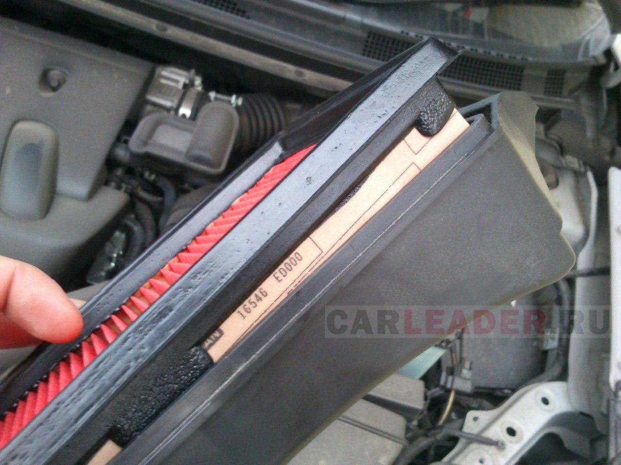 Воздушный фильтр оригинальный для Nissan