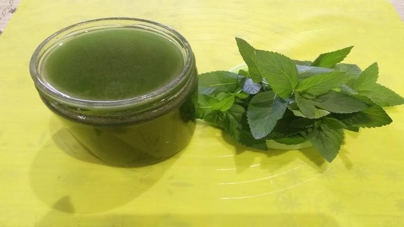 Անանուխի Օշարակ - Сироп из Мелиссы (для мохито) - Mojito (mint) Syrup
