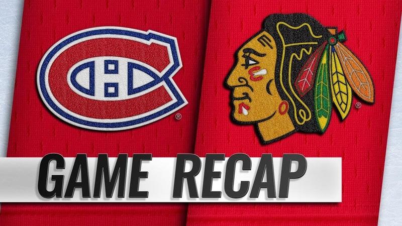 Canadiens edge Blackhawks on Tatar's late goal