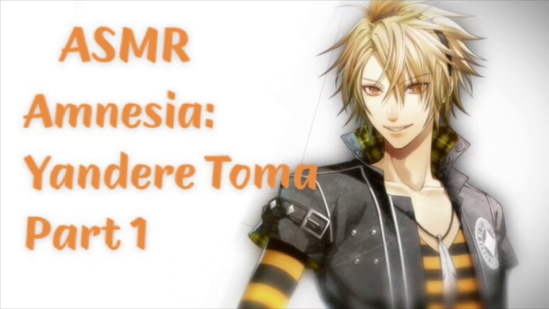 ASMR Amnesia Yandere Toma Part 1 (Overprotective) (Yandere?) (Whispering)