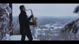 Chris Rea - Driving Home For Christmas Saxophone Cover by Juozas Kuraitis