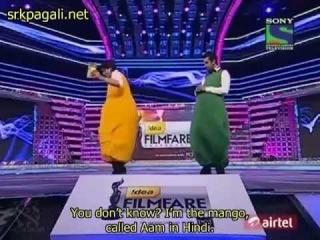 Shah Rukh Khan & Ranbir Kapoor -Filmfare Award 2012 (English subtitle)