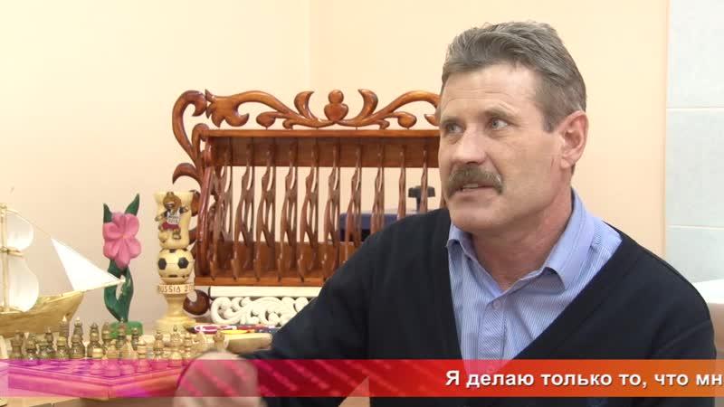 Од пинге. Юрий Ризаев – резчик из с.Козловка Атяшевского района