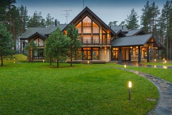 Потрясающий дом площадью 450 кв.м. Полный фотообзор»