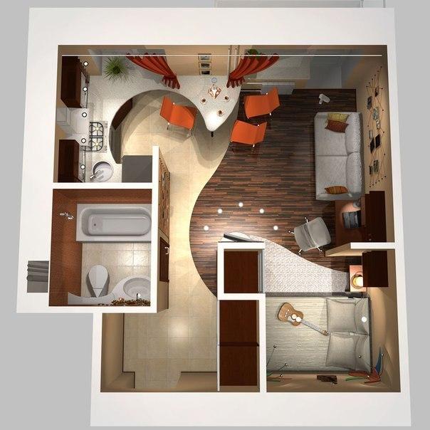 Решение для маленькой квартиры