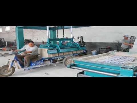 Small-investment gypsum block machine/production line