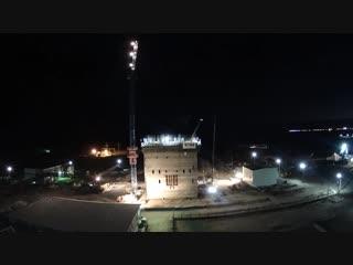 Хромтау - скользящая опалубка - чудеса Российского строительства