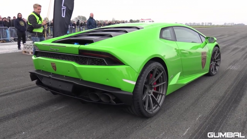 Lamborghini Huracan TwinTurbo GTT-X - 1_2 Mile Top Speed Test Run