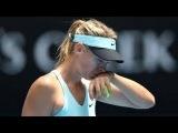 Maria Sharapova vs Dominika Cibulkova Highlights ~ AO 2014 R4