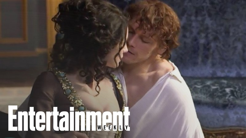 Outlander: Behind The Scenes with Sam Heughan Caitriona Balfe | Entertainment Weekly