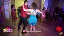 Talal Benlahsen and Aleksandra Shatalova Salsa Dancing in Lendvorets, The Third Front, Fri 03.08.18