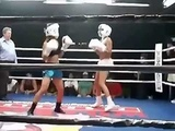 Jeannie Tambini Kicks Ass in the Boxing Ring
