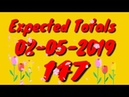 3UP Master TOTAL CUT CALCULATION for 02-05-2019 of Thailand Lottery |100% winning tip of Thai lotto.