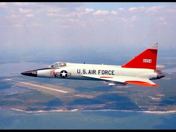 USAF's Convair F-102 Delta Dagger