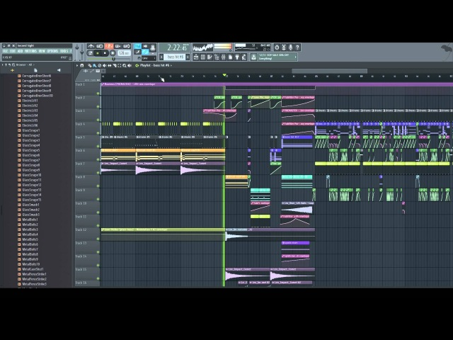 Teramite Second Sight Complextro FL Studio 12 Playthrough