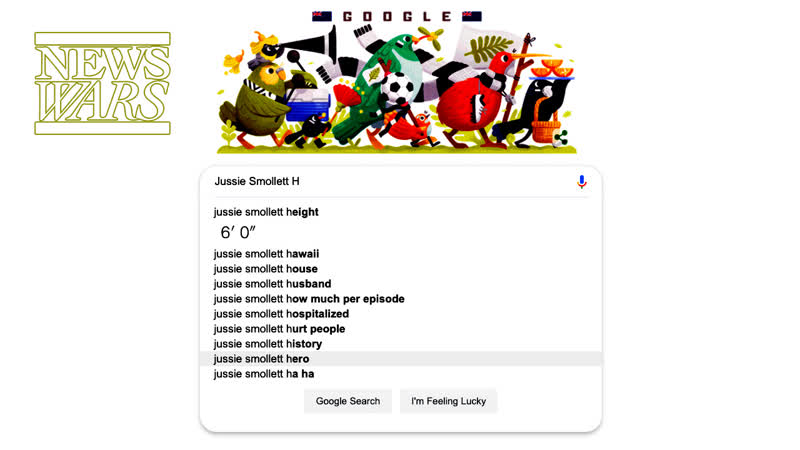 Google Protects Jussie Smollett From Negative Search Results