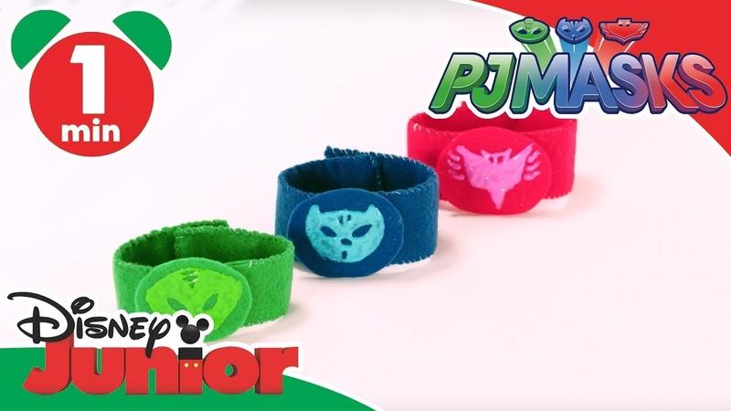 PJ Masks | Craft Tutorial: Superhero Wristbands | Disney Junior UK