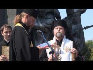 22 річниця Незалежності України, в м. Харкові, з ВО Свобода, та Ігорем Швайкою.