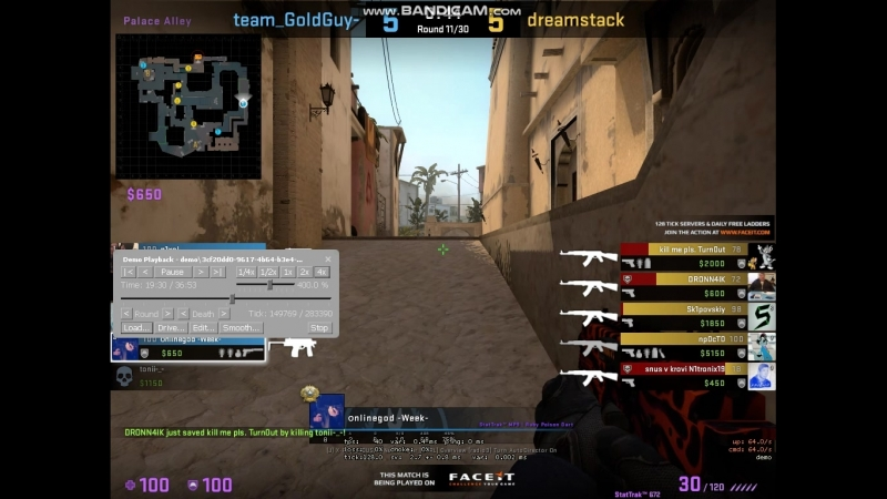 ACE ON MIRAGE WITH MP9\AK-47 BUY ROUND