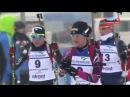 Biathlon European championship 2014. Victoria Padial Hernandez