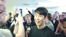 Halo theme song performed by 80 guys in 1 bathroom