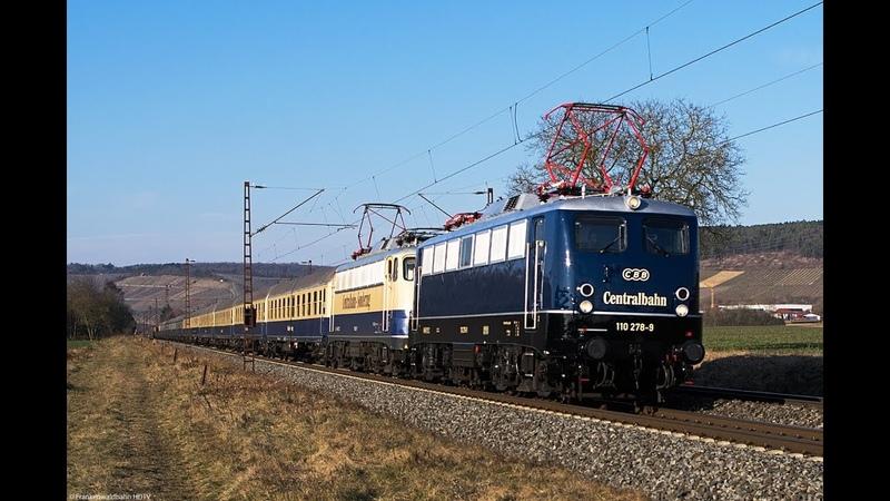 Güterverkehr im Blockabstand - Züge im Maintal - Centralbahn Sonderzug, WLE, TXL, Retrack uvm.