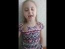Лера любит петь на английском, как она думает ( из мультфильма про Эльзу)