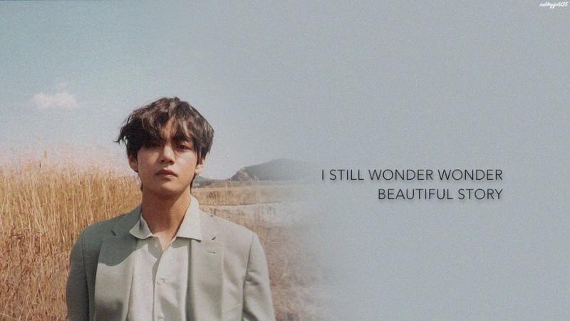 BTS V - 풍경 (Scenery) [Han|Rom|Eng lyrics]
