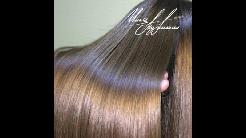 Мраморное окрашивание волос. Илья Тужилкин.