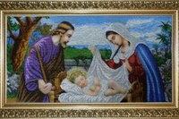 Вышивка бисером.Икона ,,Святая семья,, в Харькове - изображение 2.
