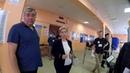 Выборы 2018. Выступление Собянина на большом экране на избирательном участке - Это не агитация!