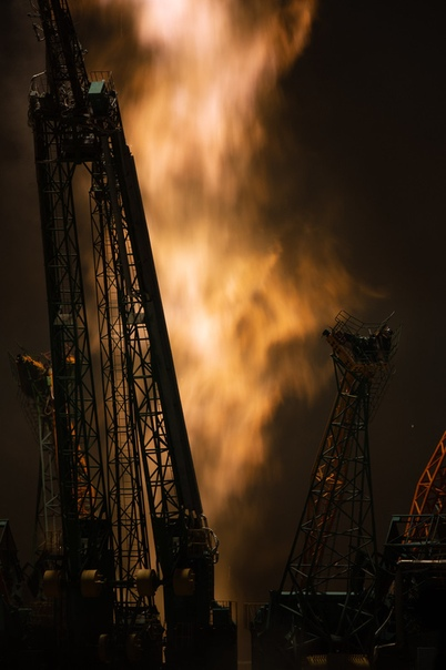 Запуск ракеты-носителя Союз-ФГ с пилотируемым кораблем Союз МС-13 (20 июля 2019 г.)