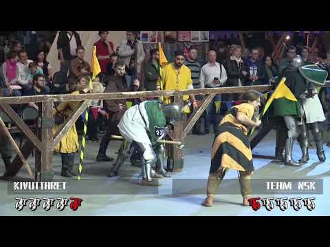 Dynamo Cup 2018 5vs5 women 12fight Kivuttaret vs Team NSK