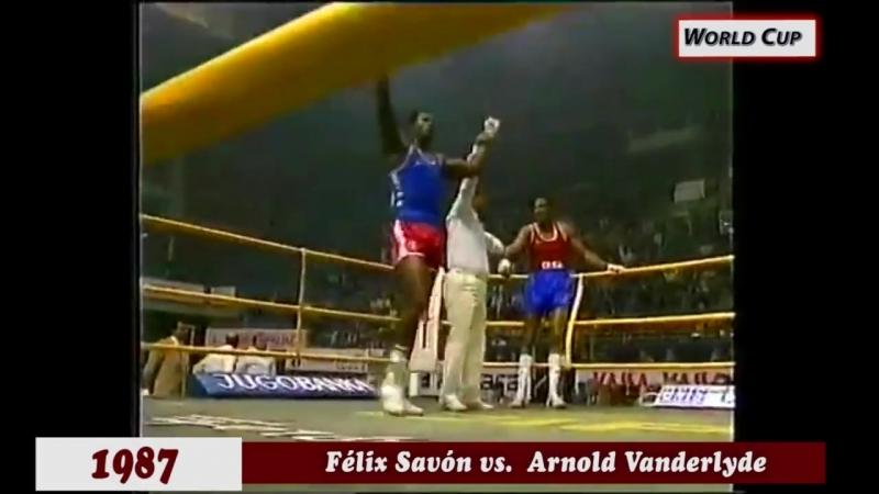 Трёхкратный Олимпийский чемпион из Кубы - Феликс Савон