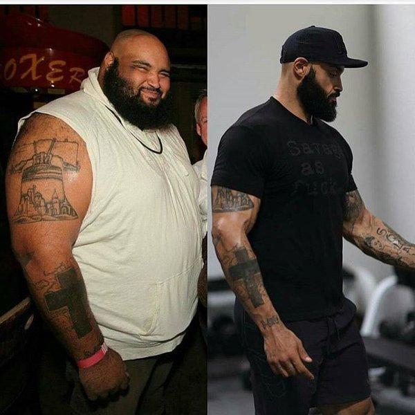 Паскаль Брокко, из 274 кг толстяка в 127 кг атлета за 3 года